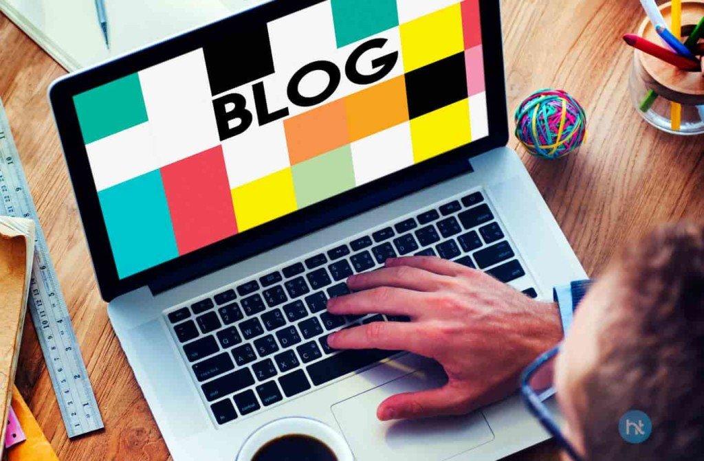 Bisnis online Blogging