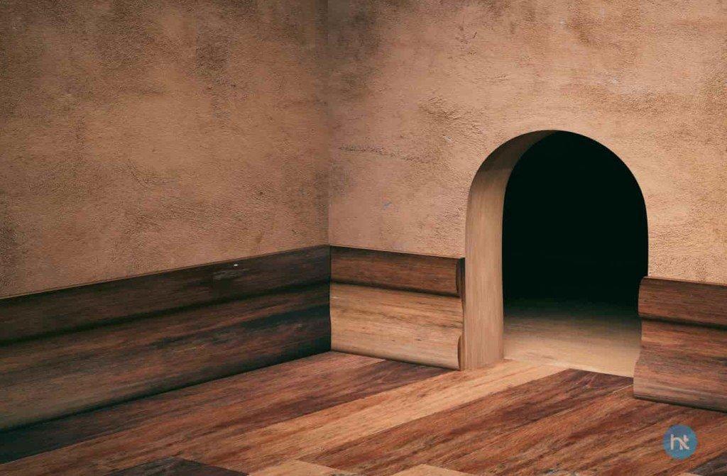 Menutup Lubang Pada Dinding Rumah