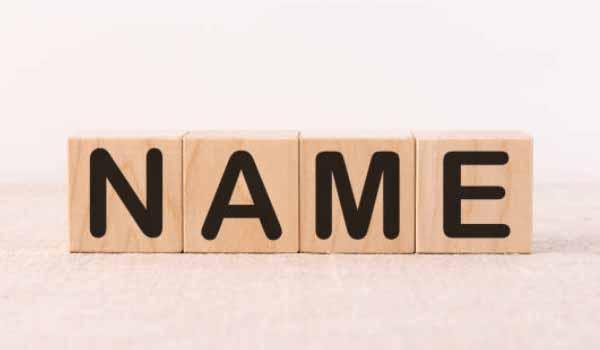 Berikan Nama Sesuai Petunjuk