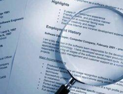 Contoh Surat Pengalaman Kerja