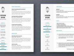 10 Contoh CV yang Baik dan Benar Terbaru