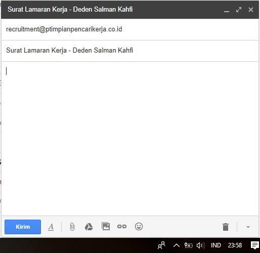 Surat Lamaran Kerja via Email1